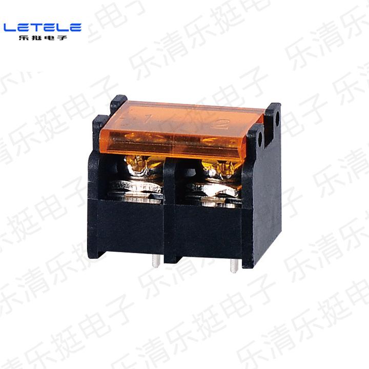 电源开关专用栅栏式接线端子 HB9500 间距9.5mm 带盖 2P厂家直销