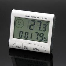 DC102迷你电子闹?#28216;率?#24230;计 家用电子温度表 舒适度 带磁铁支架