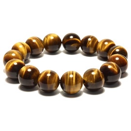 Fine natural tiger eye stone bracelet tiger eye stone wood stone male and female jewelry jewel bracelet