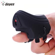 厂家直销 精亚创意2.4g手指环懒人鼠标 礼品跨境可充电无线鼠标