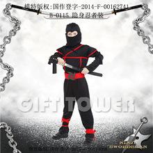 焕佑,万圣节服装,舞台表演服,日本忍者装,B-0115隐身忍者装
