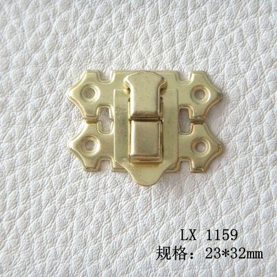 厂家供应多款螺丝板扣 搭扣 方锁 日字锁 箱包金属锁扣 仿古锁扣