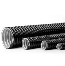 国标包塑金属软管/穿线管/电线套管蛇皮管16/20/25/32/38/51