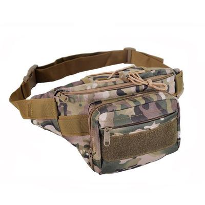 艾途AITU男女时尚户外运动休闲便携小腰包胸包战术迷彩军迷包