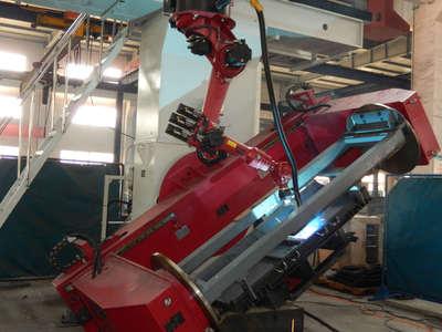 机器人焊接作业
