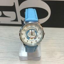哆啦A夢doraemon小叮當機器貓韓版防水男孩兒童卡通皮帶手表