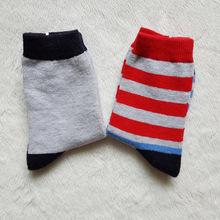 特价棉质儿童袜子 外单尾单  春秋款 无骨缝头 ?#21487;?#33298;适 ?#20449;?#31461;袜