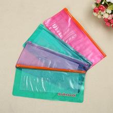 振苍定制定做新料生产PVC拉链袋多款颜色供选彩色塑料袋