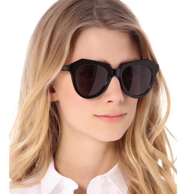 新款时尚箭头大牌太阳镜几何眼镜款墨镜