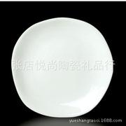 厂家直供 镁质陶瓷餐具 中西餐具 宾馆瓷酒店 光身平盘