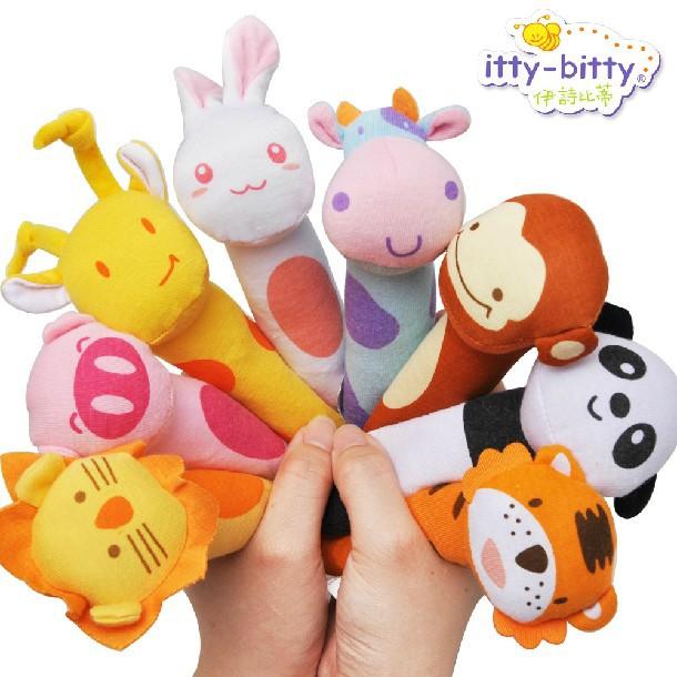 婴儿玩具宝宝卡通摇铃 0~6~12个月新生儿玩具 新款摇铃玩具