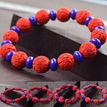 台湾朱砂手链 青金石隔珠 朱砂手链 保健手链 宝石手链 多种款式