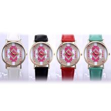 速卖通爆款韩国百搭时装表时尚腕表简约女款皮带手表女士手石英表