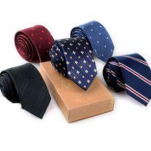 男士商务配饰厂家批发领带定制韩版新潮配饰细密涤丝6公分领带