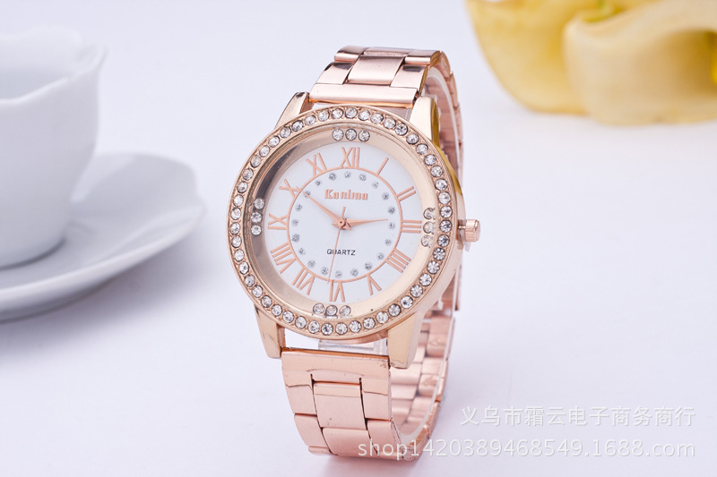 Leisure Ordinary glass mirror alloy watch (Alloy) NHSY0232
