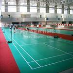 羽毛球、篮球场 回弹好 清洁简单 荔枝纹地板 pvc球纹地板