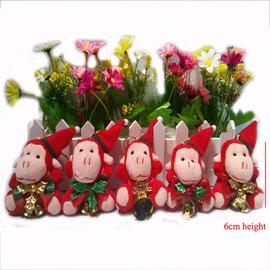 Christmas Monkey Pendant Plush Toy Doll Wedding Gift Activity Monkey Gift Mascot