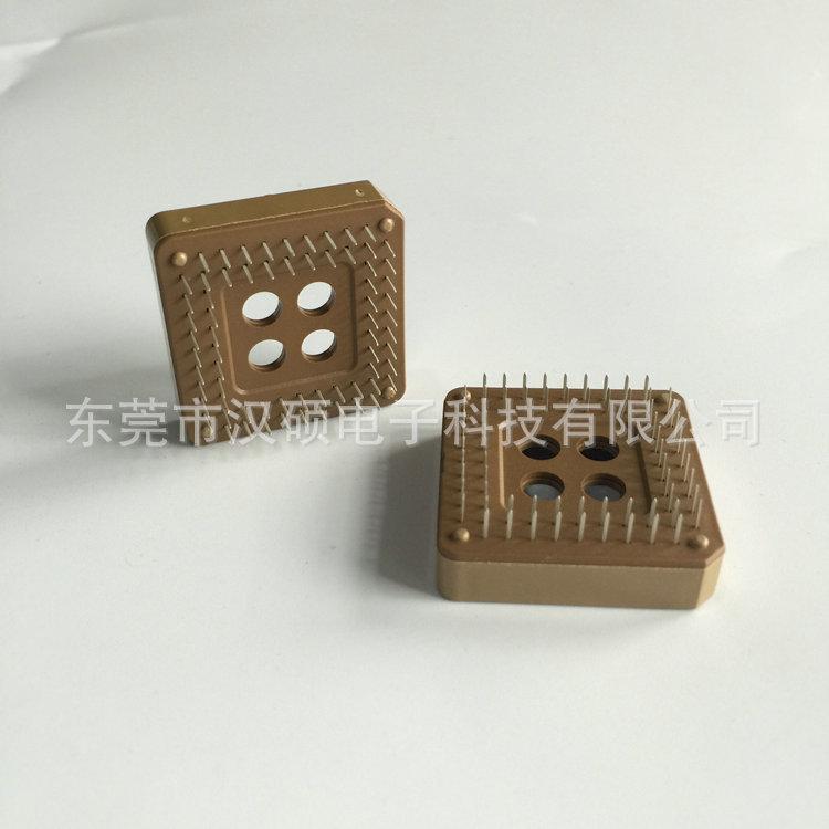 生产供应 直插IC插座  芯片插座 ic卡智能插座  ic脚座 连接器