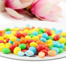 彩虹糖水果软糖休闲零食 果汁糖果 儿童食品散装2公斤 厂家批发