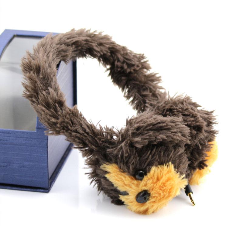 批发零售儿童听力保护耳机学生专用听音乐更安全伸缩隐藏线材