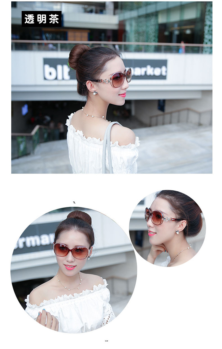 Plastic Fashion  glasses  (Bright black)  Fashion Accessories NHKD0750-Bright-black