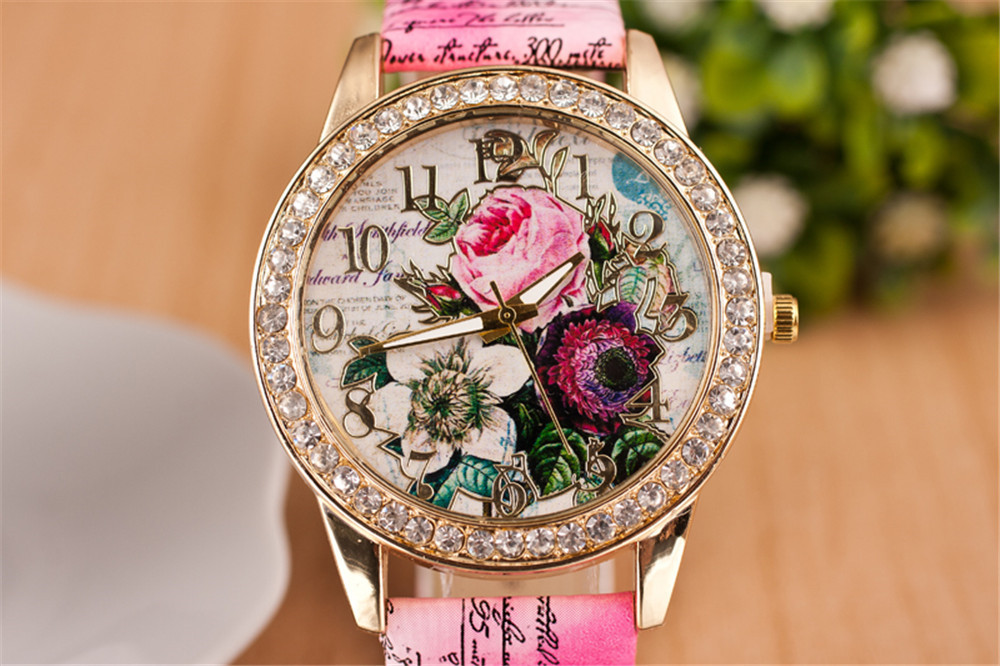 Women's Watch Wholesale Bohemian Diamond Fashion Women's Quartz Watch Women NHHK203872
