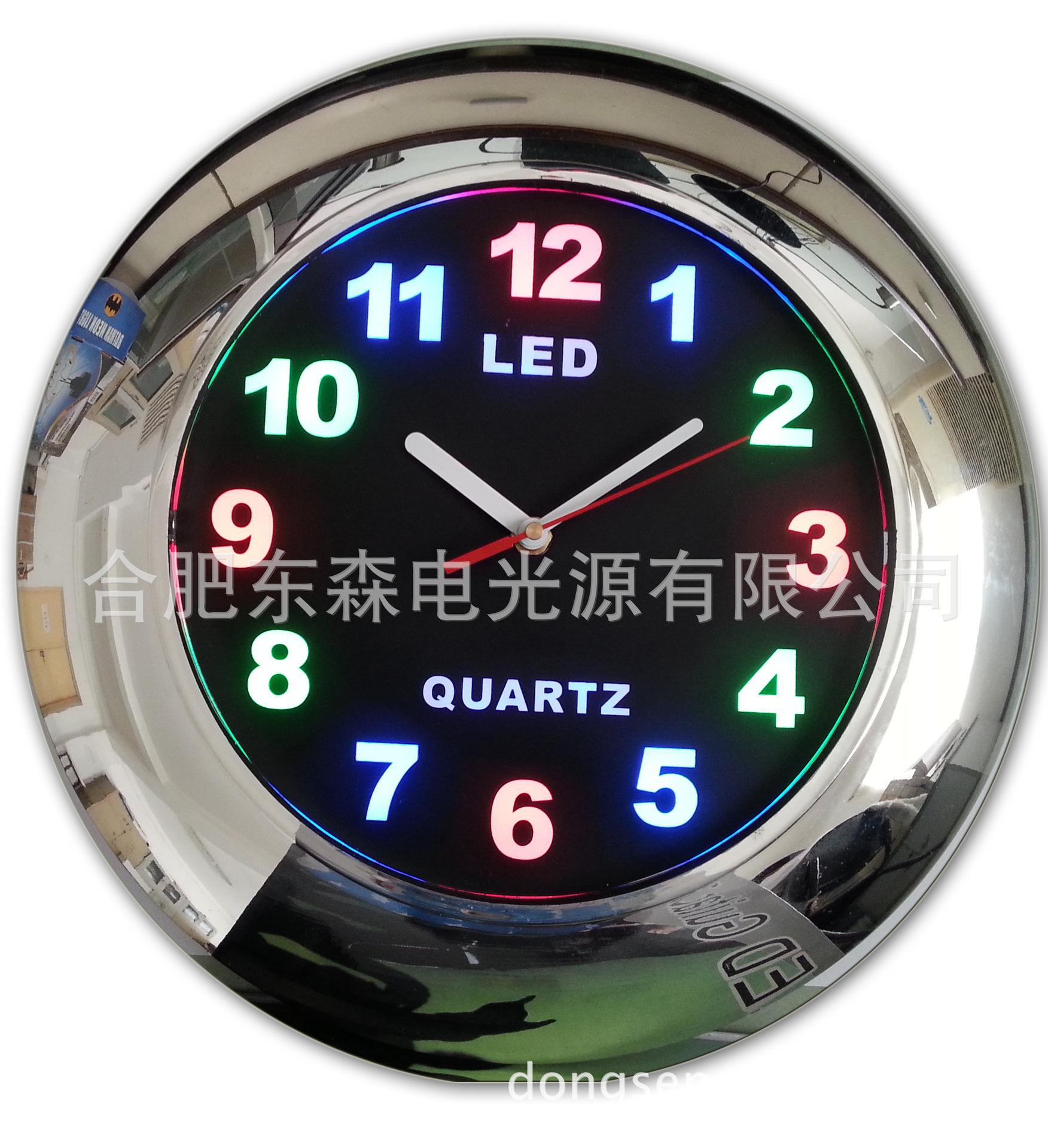 供应12寸LED时钟,LED  Clock, 挂钟