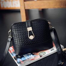 韩版新款热卖 圆扣锁编织贝壳女包 潮包时尚简约包包一件代发