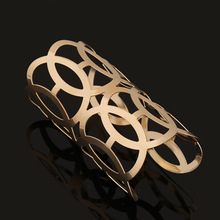fashion new jewelry gold silver wire opening bracelet wholesale nihaojewelry NHNZ224594