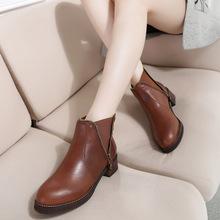 Boots cổ ngắn nữ thời trang, màu sắc trẻ trung, thiết kế năng động