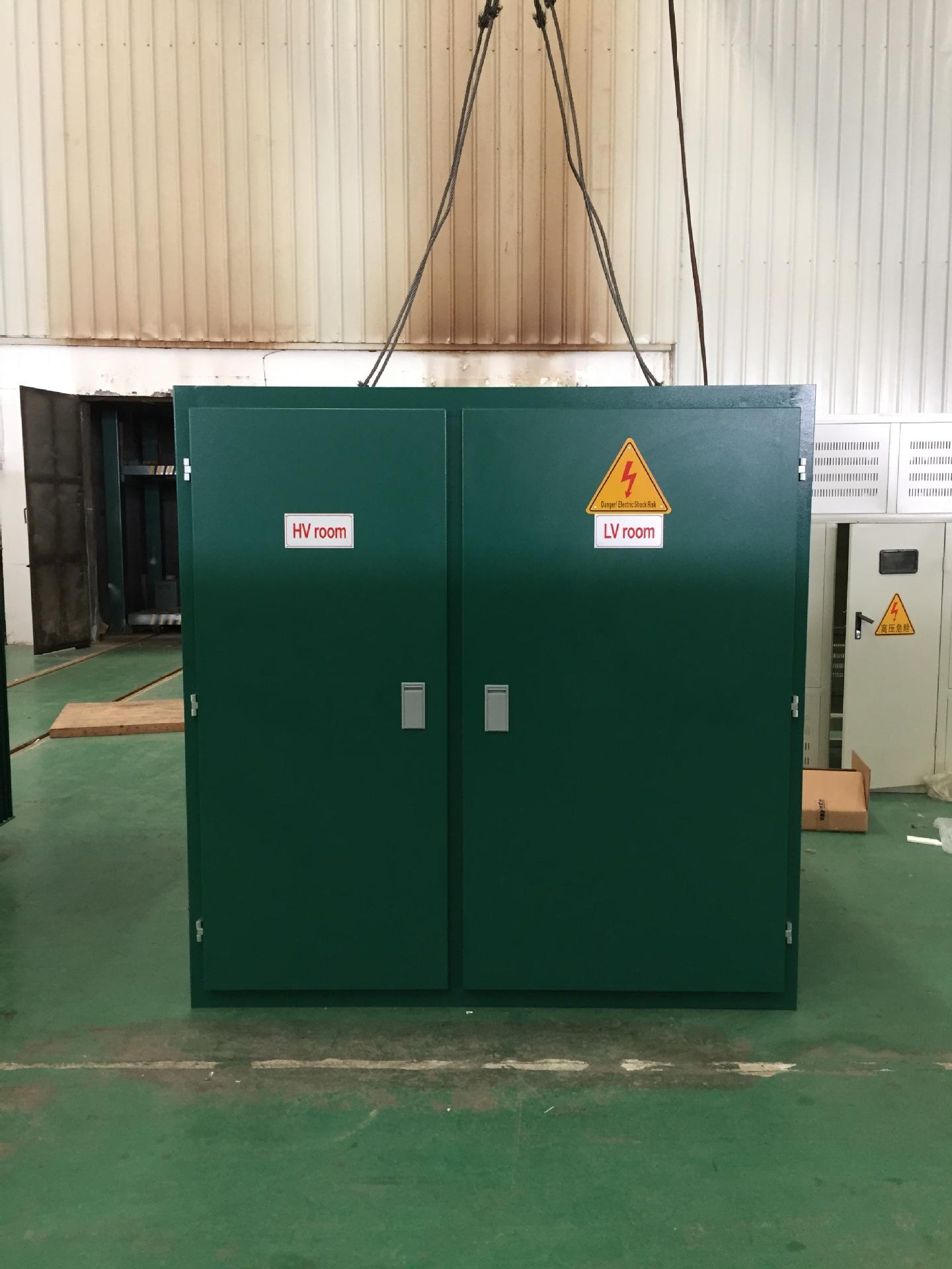 s11-1000kva/10-0.4kv三相油浸式电力箱式变压器光伏变压器风电变