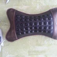 批发天然玉石加热枕颈椎理疗保健温控枕头锗石枕头会销礼品枕头