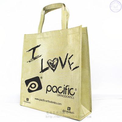 厂家专业消费覆膜无纺布袋金葱膜手提袋金葱膜礼物包装袋购物袋