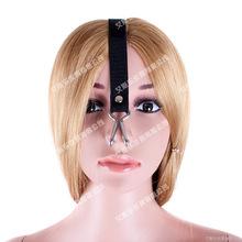 艾斯乐成人情趣女奴口球金属鼻钩口枷嘴钩调教口塞新用品厂家批发