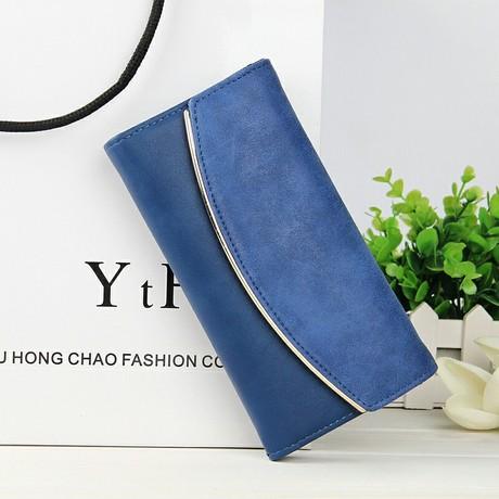 Ví da Zhenxin ngoại thương đơn giản ví nữ đơn giản phần dài Phiên bản Hàn Quốc của ví da mờ túi xách nữ bán buôn