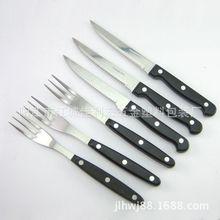 供应厨用刀 水果刀 不锈钢牛排刀叉套装
