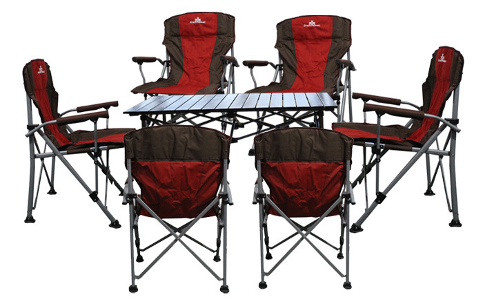 High load-bearing outdoor folding chairs Portable tables and chairs Camping tables and chairs Garden chairs Balcony tables and chairs Fishing tables and chairs