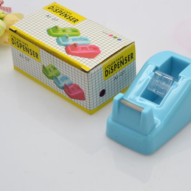 供应正品 台式胶带座 胶带切割器 可爱胶纸机 学生办公文具