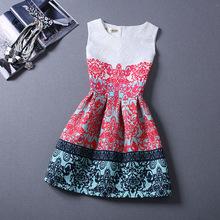 歐美大牌2015新款名媛氣質修身公主大碼蓬蓬洋裝小禮服連衣裙