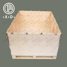 昆山钢带箱 卡扣箱 实木箱 钢边箱 插件箱 拆卸木箱定制 实力厂家