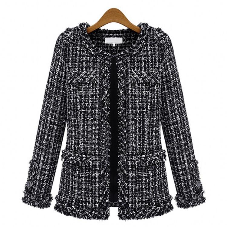 Manteau de laine femme HANCY - Ref 3416746 Image 4