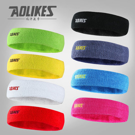 Outdoor sports breathable sweatband towel headband men and women cotton sports head