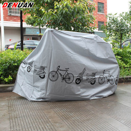 bicycle cover car clothing bicycle cover ash cover electric car motorcycle rain cover dust cover 370g