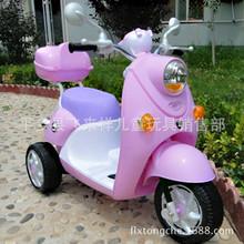 儿童摩托车男女小孩宝宝电动车玩具三轮车双驱动充电童车天大新款