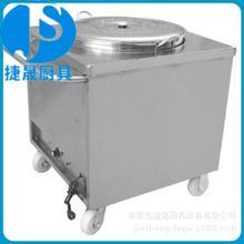 廠家供應不銹鋼暖飯車含湯桶 電熱保溫送湯車 暖湯車