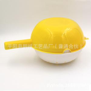 多功能水瓢 万用套筛 沥水两件套水勺 塑料厨房用品