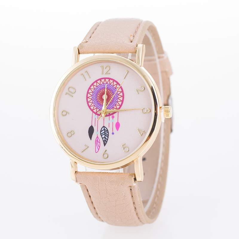 fashion Plexiglass mirrorLadies watch (9-deep coffee color)NHMM2034-9-deep coffee color