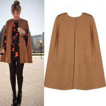 Áo khoác dạ nữ thời trang, màu sắc đơn giản, phong cách châu Âu