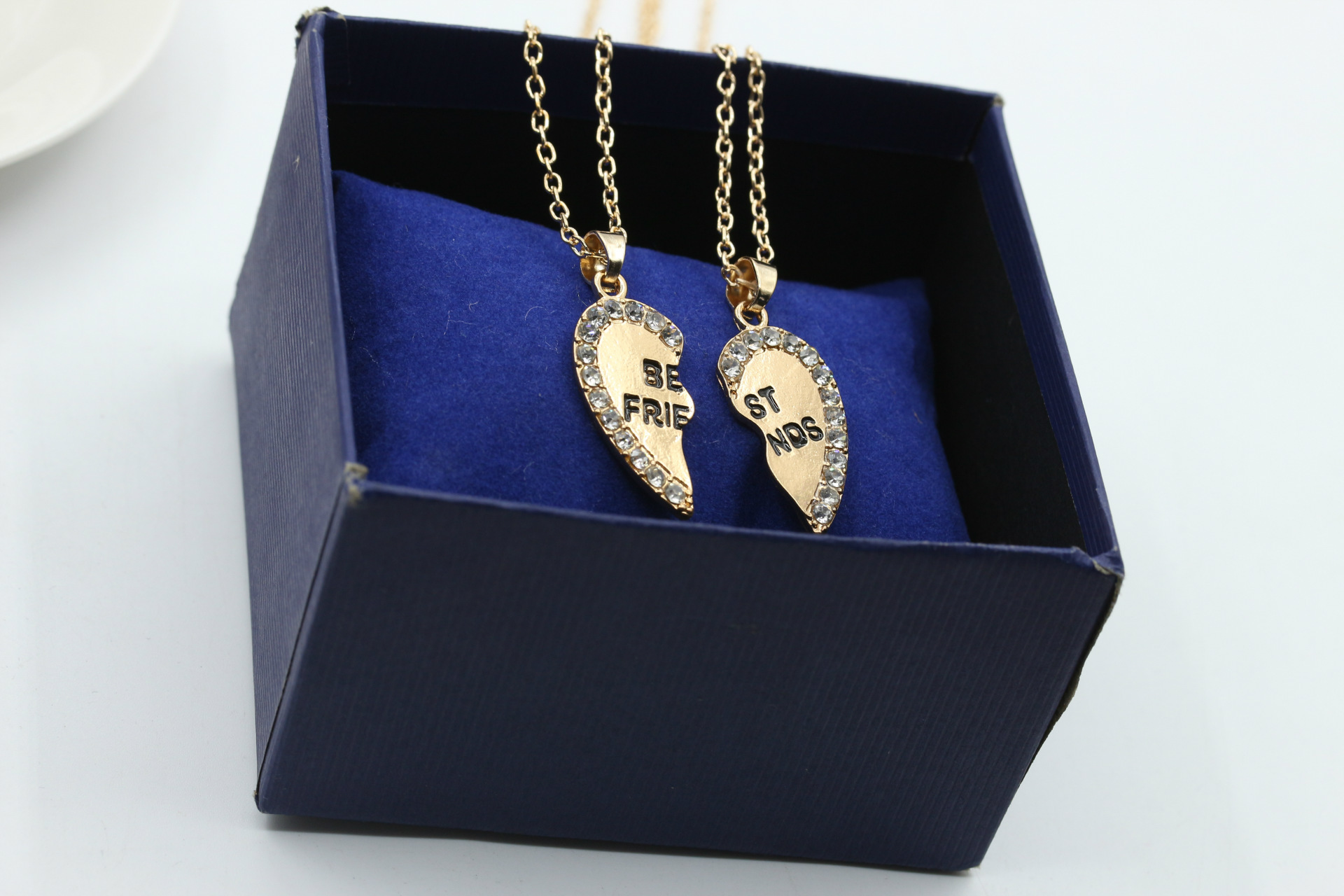 Womens heartshaped electroplated alloy Necklaces NHDP150024