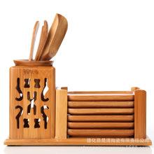 厂家直销 竹制茶道六君子 茶具套装配件 功夫茶具 新款上架